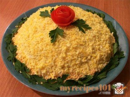 Mimoza salad